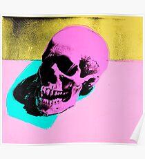 Andy Warhol Skull Poster Poster