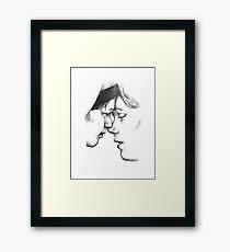Isak og Even Framed Print