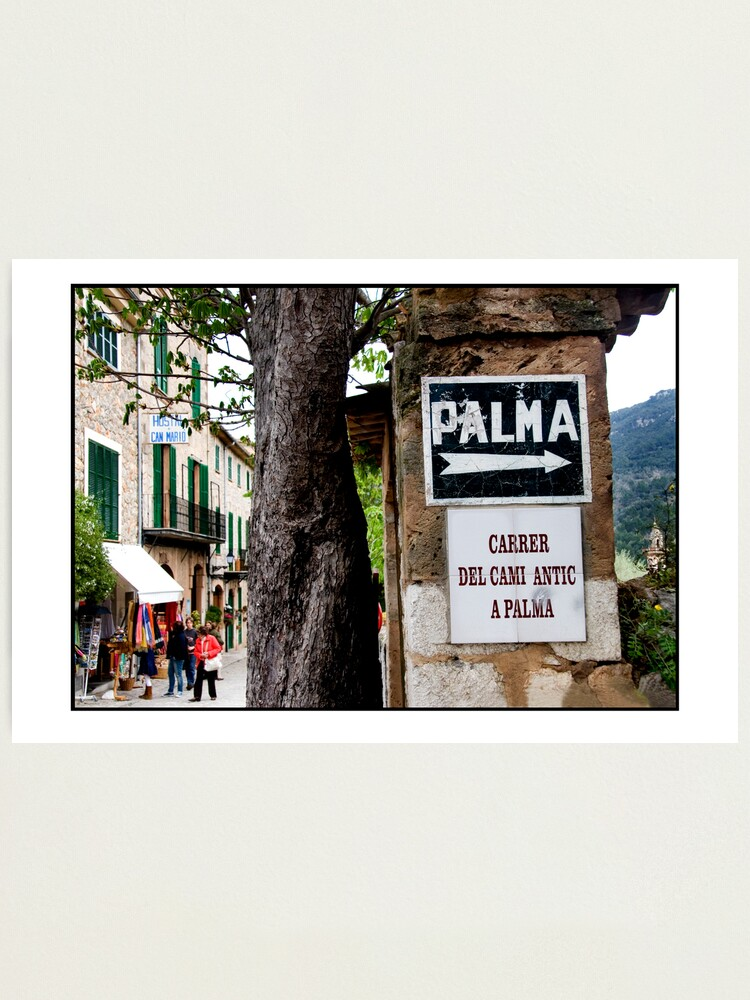 Alternate view of This way to Palma Photographic Print