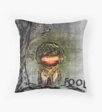 Fool Throw Pillow
