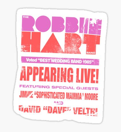 The Robbie Hart Band Sticker