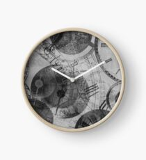 Ghost Time BW 2 Clock