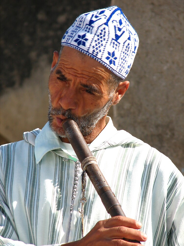 Snake Charmer in Morocco II by domenic