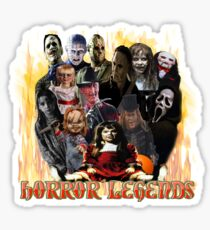 Horror Legends Sticker