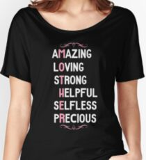 Amazing Loving Mother Appreciation Women's Relaxed Fit T-Shirt