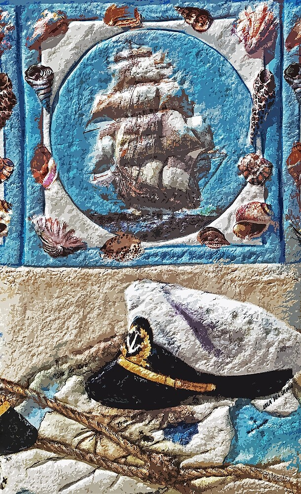 "Exclusive: "" Distant traveler sea captain "" / My Creations Artistic Sculpture Relief fact Main 27  (c)(h) by Olao-Olavia / Okaio Créations by . Okaïo"