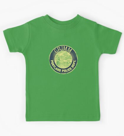 Grimm Police Department Kids Clothes