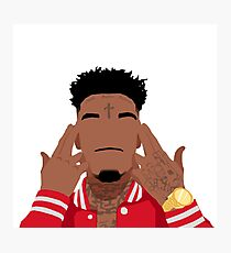 21 Savage Photographic Print