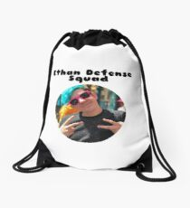 Ethan Defense Squad Drawstring Bag