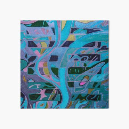 Hexagram 8: Pi (Union)  Art Board Print