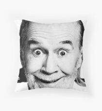 George Carlin Throw Pillow