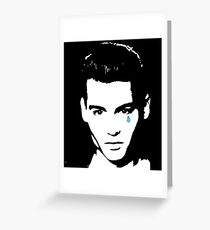 Cry Baby-JD  Greeting Card