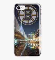 Bruins over Boston iPhone Case/Skin