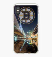 Bruins over Boston iPhone Case
