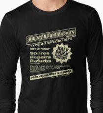 Bill's Tardis Repairs Long Sleeve T-Shirt