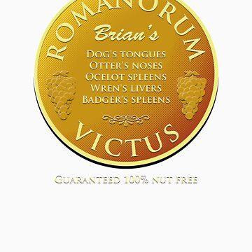 Brian's Romanorum Victus. by robotrobotROBOT