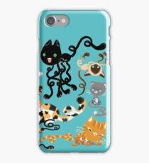 Squiggle Cats iPhone Case/Skin