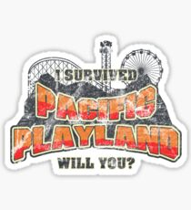 I Survived Pacific Playland Sticker