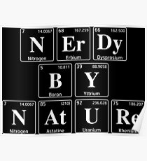 Nerdy By Nature Poster