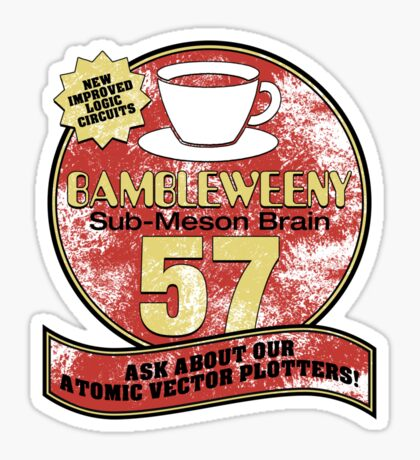 Bambleweeny 57 Sticker