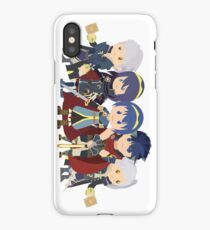 Chibi Fire Emblem Gang iPhone Case