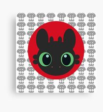 Toothless V.2 Canvas Print