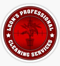 Leon's Professional Cleaning Services Sticker