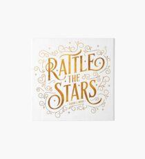 Rattle the Stars Art Board