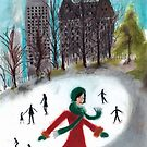 Skating Sally by Anita Ristovski