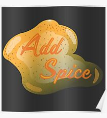 Add Spice Poster