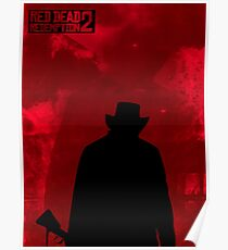 Red Dead Redemption 2 Fire Poster