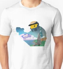 Halo 1 - Combat Evolved : Master Chief Vector Unisex T-Shirt