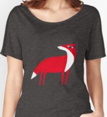 Fox pattern Women's Relaxed Fit T-Shirt