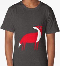 Fox pattern Long T-Shirt