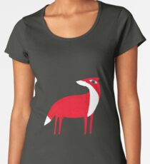 Fox pattern Women's Premium T-Shirt