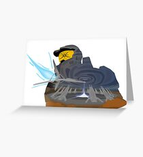 Halo 3 : Master Chief Vector Greeting Card