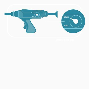 Phaser: Set to Stun. by robotrobotROBOT