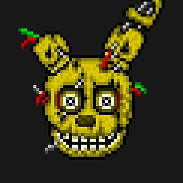 Five Nights at Freddy's 3 - Pixel art - SpringTrap by GEEKsomniac