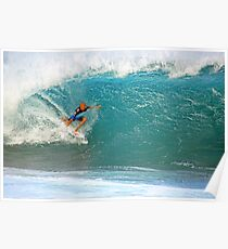 Kelly Slater's Pipe Poster