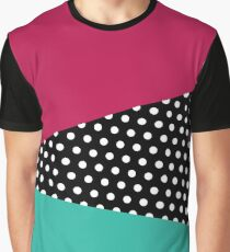 Retro Geometry Graphic T-Shirt