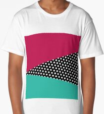 Retro Geometry Long T-Shirt