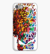 Bill Murray Stained Glass Mosaic Sharpie Marker Art Redbubble iPhone Case/Skin