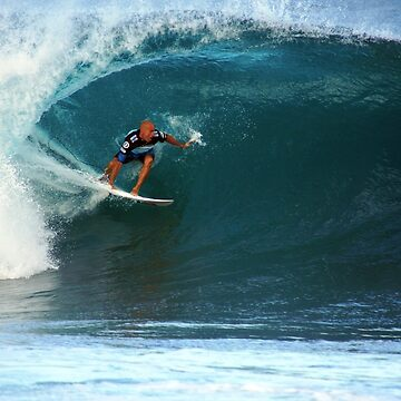Kelly Slater at Pipeline Masters by skystudio