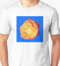 sunshine rose, blue background 04/27/17 Unisex T-Shirt