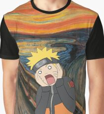 Naruto Scream Graphic T-Shirt