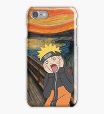 Naruto Scream iPhone Case/Skin