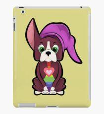 Hyrule Boston Terrier Illustration iPad Case/Skin