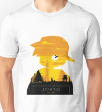 Johto Region- Gold Vers. Unisex T-Shirt