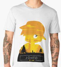 Johto Region- Gold Vers. Men's Premium T-Shirt