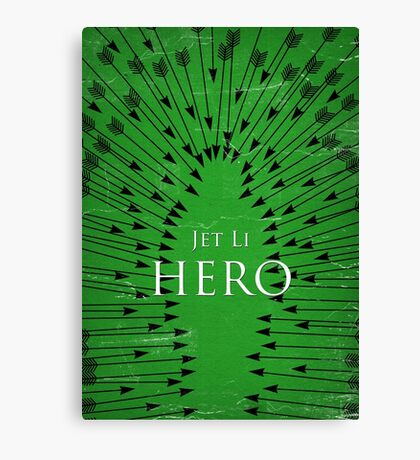 Hero - Green Canvas Print